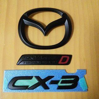Mazda マツダ CX-3 純正エンブレム つや消し黒
