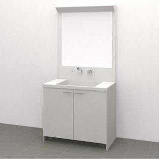 ノーリツ 洗面化粧台 W900 キューボ フラットタイプ 新品