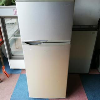 SHARP 12年制 冷蔵庫 118l