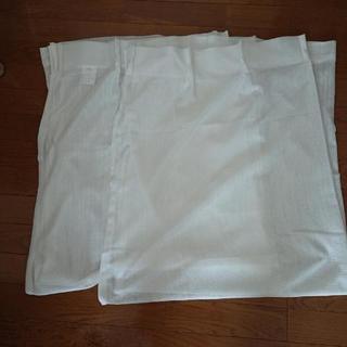 ニトリレースカーテン 2枚組 フック付き