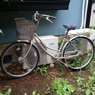 引っ越しのため急いでおります【無料】26インチ自転車