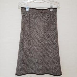 レッセパッセ、ウール混スカートの画像