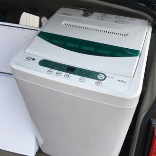 全自動洗濯機 YWM-T45A1  2017y 美品