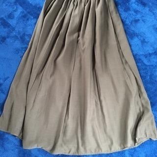 【any FAM】ロングスカート♡カーキ色♡Mサイズ♡