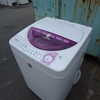 簡易清掃済み☆2006年製☆ シャープ 乾燥付き 全自動洗濯機 E...