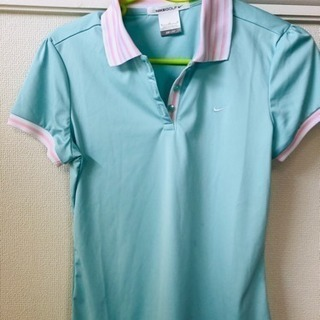 NIKE   レデース半袖ポロシャツ  (Mサイズ)