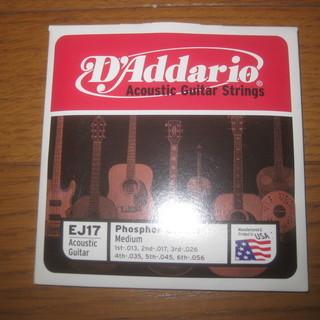 D'Addario EJ17 アコースティック ギター 弦