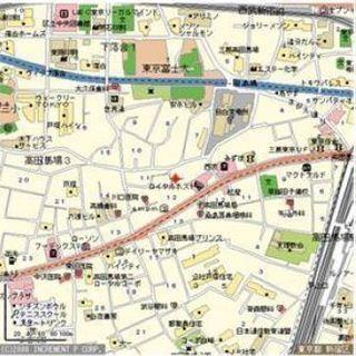 山手線高田馬場駅徒歩4分 ワンルーム路面店 貸倉庫・貸事務所・貸店...