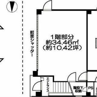 大江戸線蔵前駅徒歩5分 台東区蔵前貸店舗・事務所 1階路面の飲食店...