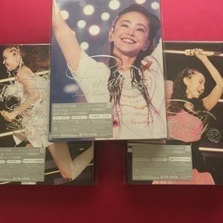 未開封☆安室奈美恵 3本セット 東京・京セラ・福岡ヤフオク  レプリカ