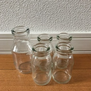 牛乳瓶  5本
