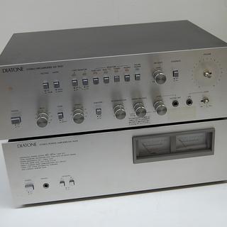 DIATONE/ダイアトーン ステレオアンプ パワーアンプセット ...