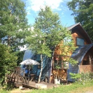 姫木平別荘地、白樺湖まで車で10分、美しい景色のカナディアンハウス...
