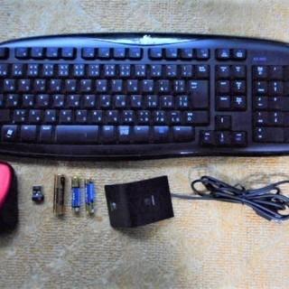 ワイヤレスキーボードとマウス 送料無料