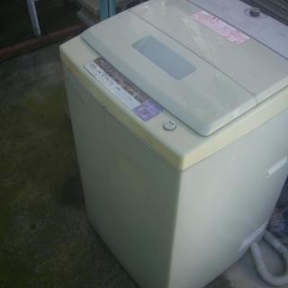 古い洗濯機、無料で*引き取りに来れる方。