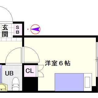 【サンパレス難波南】2号タイプ!1Kタイプ!家具家電付で費用をかけ...