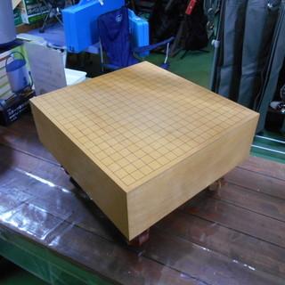 【磐田市見付】 囲碁 碁盤 NO50 箱つき
