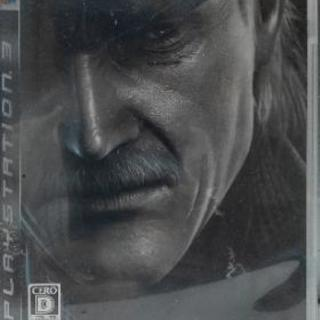 PS3 メタルギア ソリッド 4 ガンズ・オブ・ザ・パトリオット
