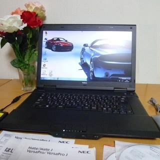格安 Windows7 NEC ノートパソコン 中古美品 動作確...