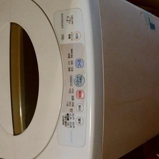 【無料】日立製洗濯機 4.2kg 2007年製