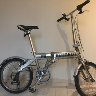 『格安中古』プジョー PEUGEOT 折りたたみ自転車