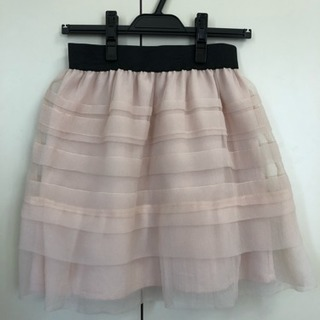 JAYRO ピンクシフォンスカート