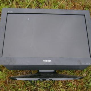 液晶TV TOSHIBA 液晶カラーテレビ  中古 20180929