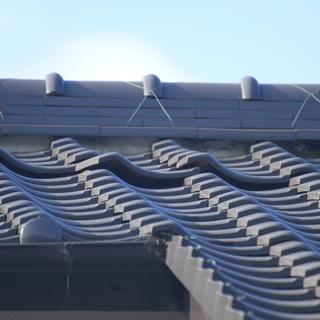 屋根瓦めくれ防止処置します