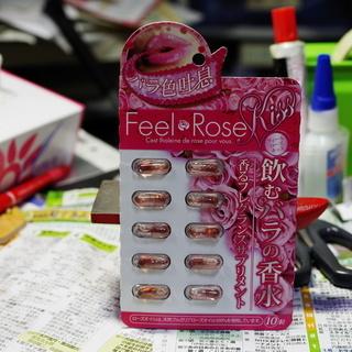 未開封 フィール ローズ キッス 飲むバラの香水 香るフレグランス...