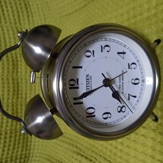 目覚まし時計 ツインベル式 CITIZEN(リズム時計製)4RA770