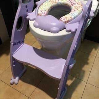 カエルのトイレトレーナー、補助便座、おまる