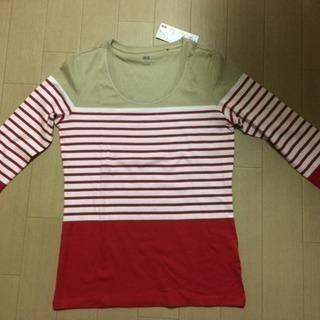 【新品】ボーダーTシャツ (七分袖)  16