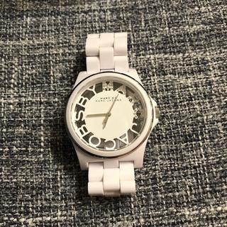 MARC BY MARCJACOBS 腕時計 ホワイト/ス…
