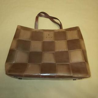 ハンドバッグ イタリア製 ブラウン系 本革