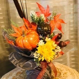 秋のアレンジフラワー