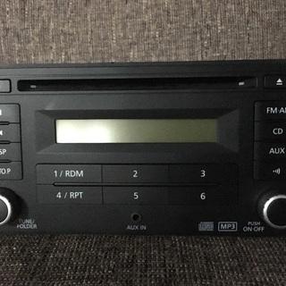 日産純正CD・AM FMレシーバー