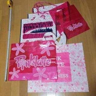 ショップ袋‼️18枚セット ピンクラテ レピピアルマリオ 原宿 ガール