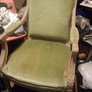 椅子◆アンティークチェアー◆カラーリングも良く雰囲気のある椅子です◆