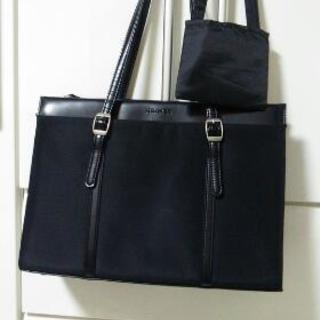 値下中★就活で使用 黒 シンプルバッグ