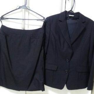 値下中★レディーススーツ 黒 9号