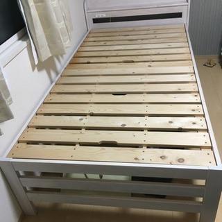 シングルベッド すのこ 木製