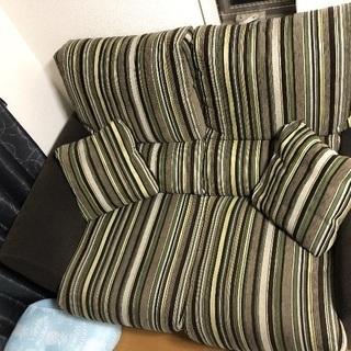 スペイン製 2人用ニトリのソファ