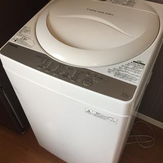 全自動電気洗濯機 TOSHIBA AW-4S3