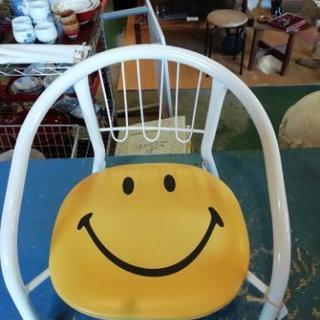 美品 ニコちゃん子供椅子