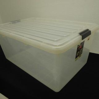 アイリスオーヤマ クリアボックス 収納ケース 60L 44×60×...