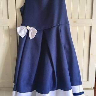 紺色 ドレス 150cm