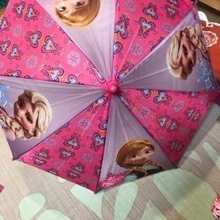 雪アナ  子ども 傘