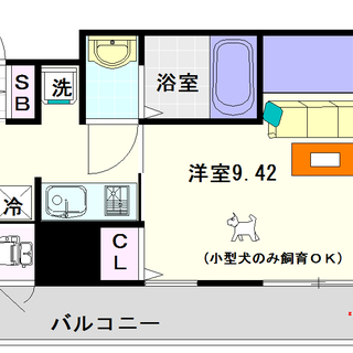 【ルネ日本橋アネーロ】4号タイプ!1Kタイプ!ワンランク上の広さと設備☆