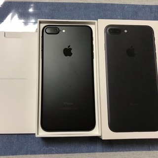SIMフリーiPhone7plus 黒