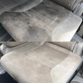 車内クリーニング 車 チャイルドシート ボディガラスコーティング